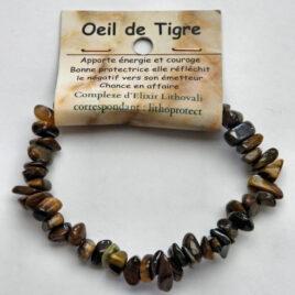 Bracelet baroque en Oeil de tigre