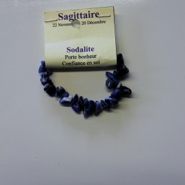 Sagittaire – sodalite