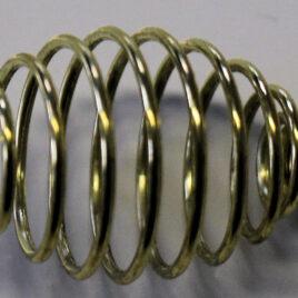 Ressort en métal couleur dorée grand modèle