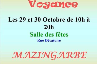Salon de mazingarbes les 29 et 30 octobre