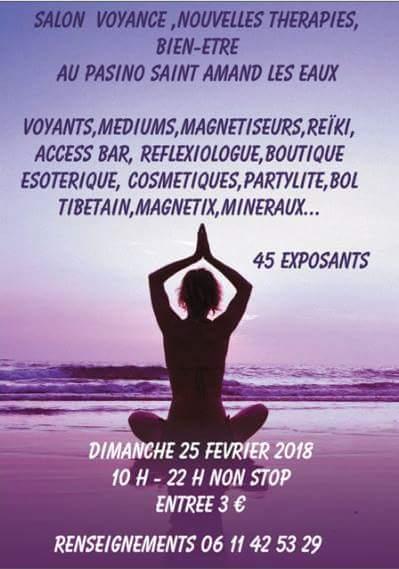 Salon de bien etre et voyance le 25 février 2018