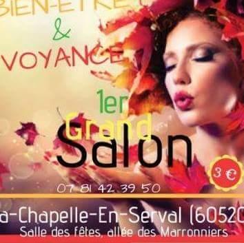 Salon bien-être et voyance La Chapelle-en-Serval 13 et 14 octobre