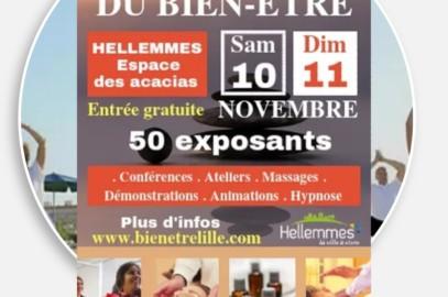 Salon du bien-être d'Hellemmes 10 et 11 novembre