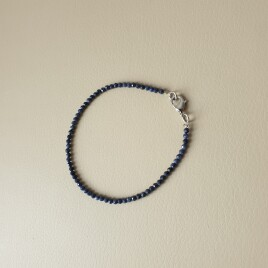 Bracelet en pierre de saphir