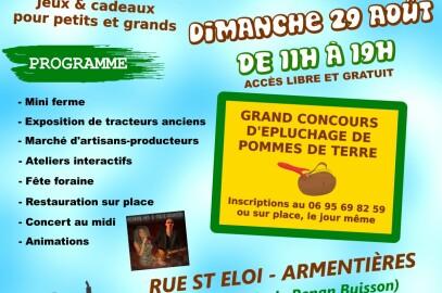 Fête agricole d Armentières le 29 août