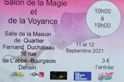Salon de la magie et de la voyance les 11 et 12 septembre